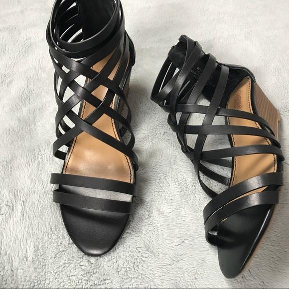 6dc241c1bdff Crown Vintage Shoes - Crown Vintage Nellie Wedge Cage Gladiator Sandal
